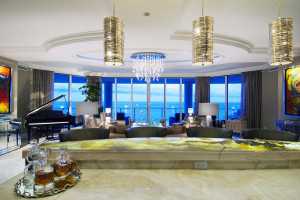 residence at the Ritz-Carlton Residences at Singer Island, Florida, photographed for the owner and Schrapper's Custom Fine Cabinetry, Jupiter, Florida.