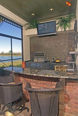 view Outdoor kitchen photo gallery