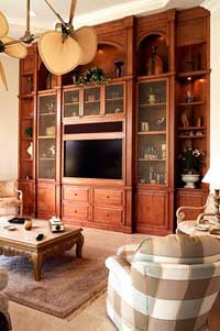 Entertainment Center Design